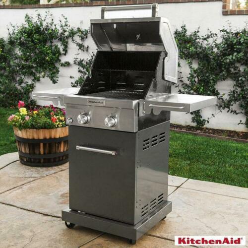 Bếp Nướng KitchenAid 2 Đầu Đốt Bằng Thép Không Gỉ Mode 720-0891G