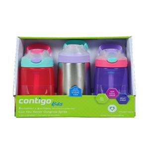 Bình đựng nước trẻ em Contigo Kids (lốc 3)