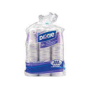 Ly giấy Dixie lớn 12oz lốc (300 cái/ lốc)