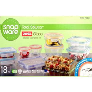 Hộp đựng thức ăn Snapware (18 cái/ thùng)