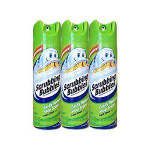 Chất tẩy rửa toilet Scrubbing Bubbles (3 chai/ lốc)
