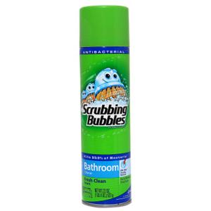 Xịt Vệ Sinh Nhà Tắm Scrubbing Bubbles (708g/ chai)