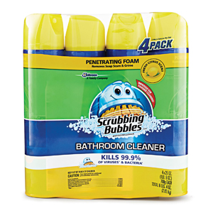 Chất tẩy rửa toilet Scrubbing Bubbles (4 chai/ lốc)