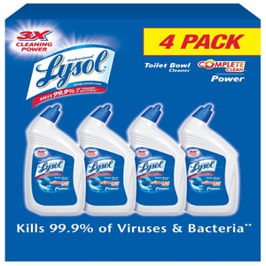 Nước tẩy rửa toilet Lysol (4 chai/ lốc)