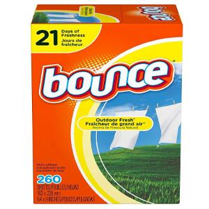 Giấy thơm Bounce 260 sheets