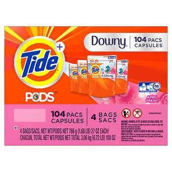 Viên Giặt Tide Pods 104v