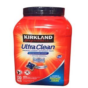 Viên giặt Kirkland Signature Ultra Clean (152 viên/ hộp)