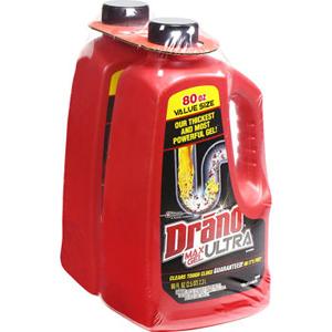 Dung dịch thông cống Drano ultra 2.3L (Lốc 2)