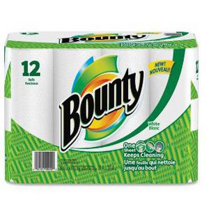 Khăn giấy Bounty (12 cuộn/ lốc)