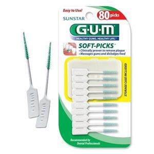 Tăm xỉa răng GUM (80 cây/ vỉ)