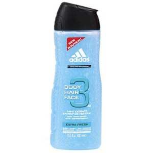 Sữa tắm - rửa mặt 3in1 Adidas (400ml)