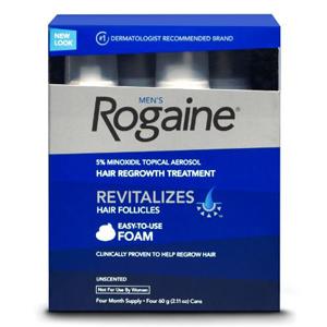 Thuốc mọc tóc của nam Rogaine (4 chai/ lốc)