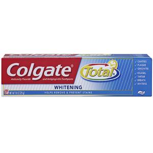 Kem đánh răng Colgate Total Whitening (221g/ hộp)