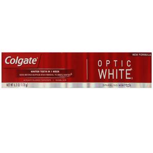 Kem đánh răng Colagate Optic White (178g/ hộp)