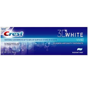 Kem đánh răng Crest 3D White (164g/ hộp)