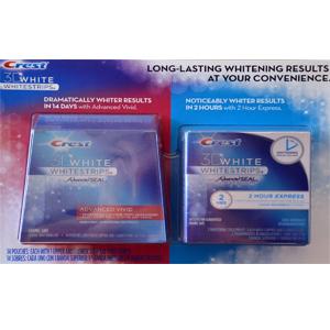 Miếng dán trắng răng CREST 3D whitestrips (2 hộp/ lốc)