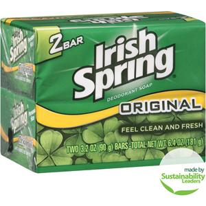 Xà bông Irish Spring (2 cục/ lốc)