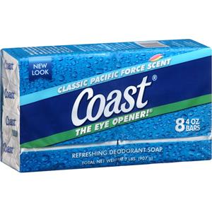Xà bông cục Coast (8 cục/ lốc)
