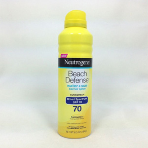 Xịt chống nắng Neutrogena Beach defense SPF 70 (184g/ chai)
