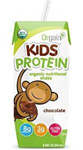 Thực phẩm bổ sung dinh dưỡng Orgain kids protein (244ml/ hộp)