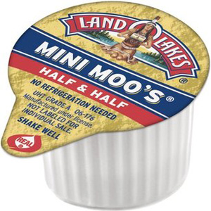 Sữa béo Half  Half (10 cục/ bịch)