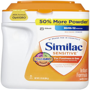 Sữa Similac Sensitive (964g/ hộp)