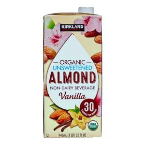 Sữa hạnh nhân hương vanilla Kirkland (946ml/ hộp)