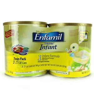Sữa Enfamil từ 1 đến 12 tháng 765g (2 lon/ lốc)