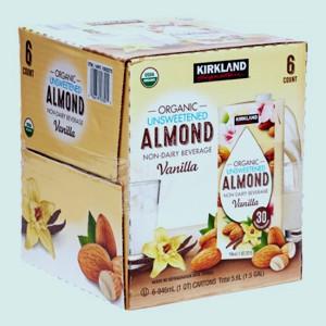 Sữa hạnh nhân hương vanilla Kirkland (Lốc 6)