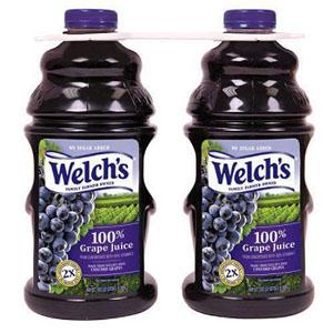 Nước ép nho nguyên chất Welch