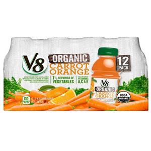 Nước ép Cam - Cà rốt V8 (12 chai/ lốc)