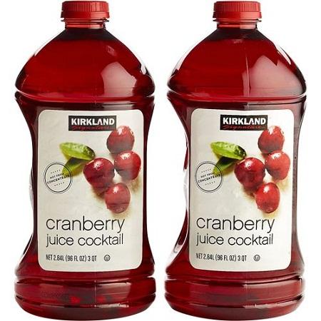 Nước ép nam việt quất cocktail Kirkland 2.84L (Lốc 2)