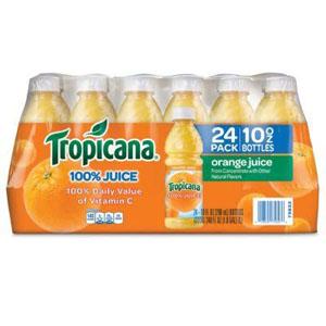 Nước ép cam nguyên chất Tropicana 296ml (Lốc 24)