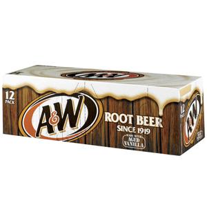 Nước ngọt xá xị AW (12 lon/ thùng)
