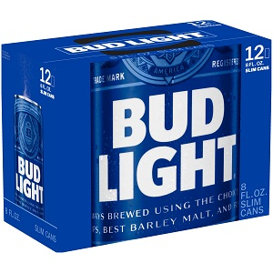 Bia Bud Light Trade Mark (Lốc 12)