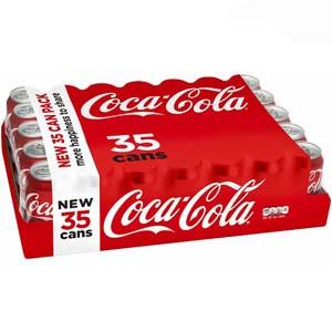 Nước ngọt Coca Cola (35 lon/ thùng)