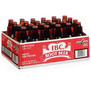 Nước ngọt xá xị IBC Root Beer (24 chai/ lốc)