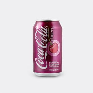 Nước ngọt Coca Cola Cherry (355ml/ lon)