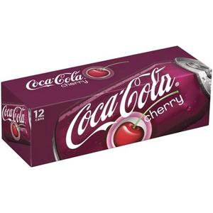 Nước ngọt Coca Cola Cherry (12 lon/ thùng)