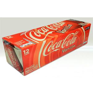 Nước ngọt Coca Cola Vanilla (12 lon/ thùng)