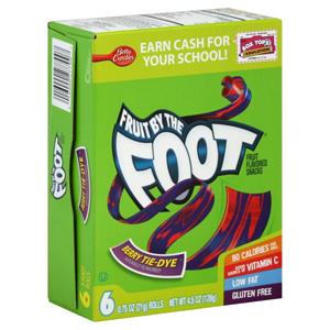 Kẹo trái cây Foot (48 bịch/ hộp)