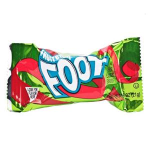 Kẹo trái cây Foot