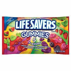 Kẹo Gummies Lifesavers 5 Flavors (119g/ bịch)