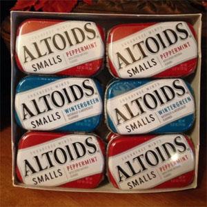 Kẹo hương bạc hà Altoids (12 hộp/ lốc)