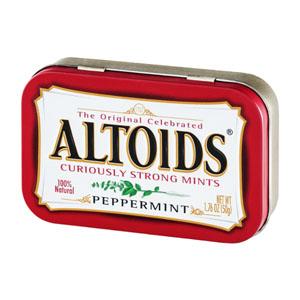 Kẹo hương bạc hà Altoids Peppermint (50g)