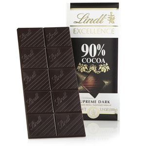 Chocolate đắng Lindt Excellence (100g/ thanh)