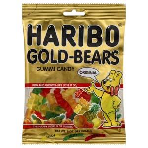 Kẹo dẻo Gummi Bears (142g/ bịch)