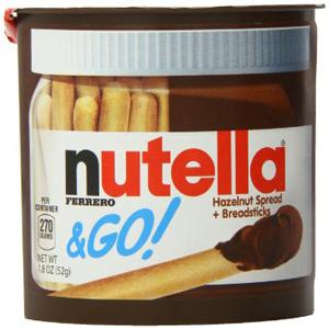 Bánh chấm bơ hạt dẻ cacao Nutella (52g/ hộp)