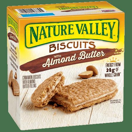 Bánh Quy Bơ Hạnh Nhân Nature Valley (hộp 30 gói/1.14kg)
