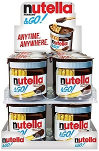 Bánh chấm bơ hạt dẻ cacao Nutella (Lốc 16)
